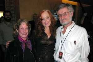 The night we got to talk with Bonnie Raitt after all these years