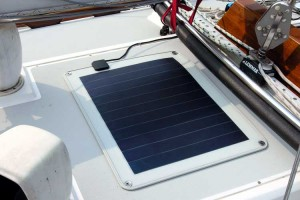 Flexible Uni-solar amorphous crystal panel