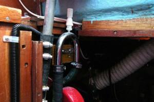 Westerbeke anti-siphon valve, per Gene Barnes