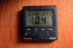 ST-50 Multi data repeater for the V-berth